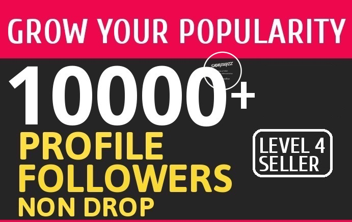 Add 10000+ High Quality Fast Profile Followers