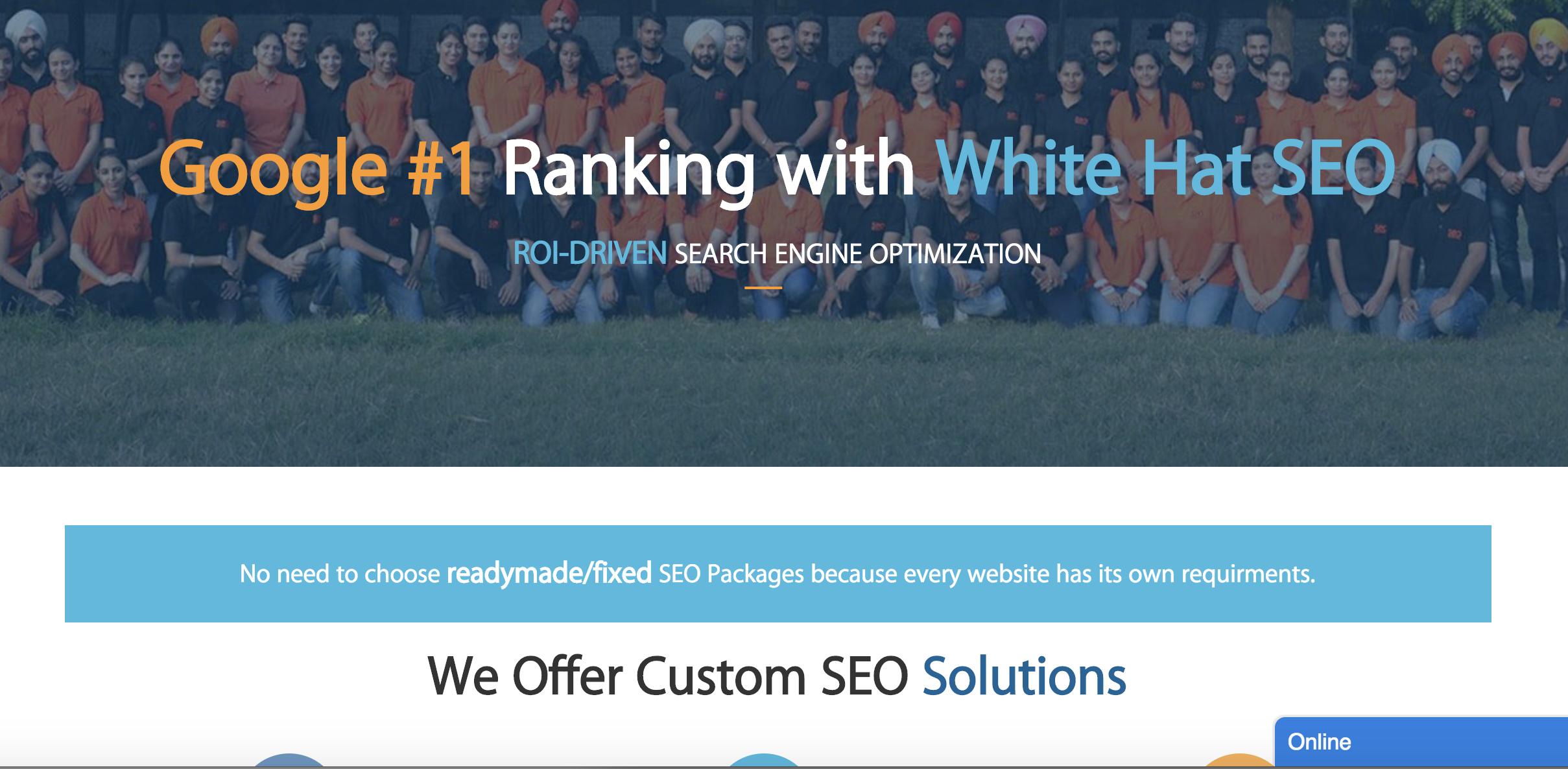 Google Offer White Hat Tactics,  Organic SEO Guaranteed Ranking