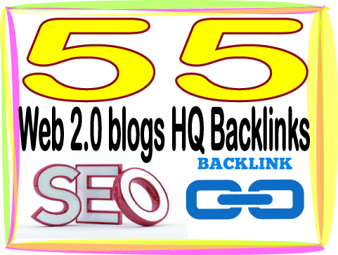 Boost your Site Alexa Rank with 55 Web 2.0 blogs Backlinks