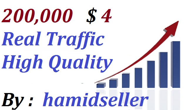Real +200,000 WorldWide Website Traffic Visitors To your Non Drop And Very High Qulity And Unlimited Traffic Site Adsence Safe and Genuine Just
