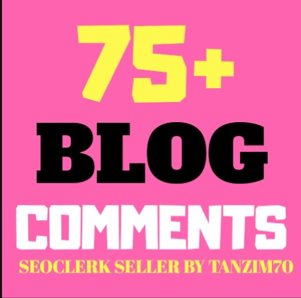 "Instant Start 75+ Real None Fake Blogs Comm""ents Very Fast Delivery"