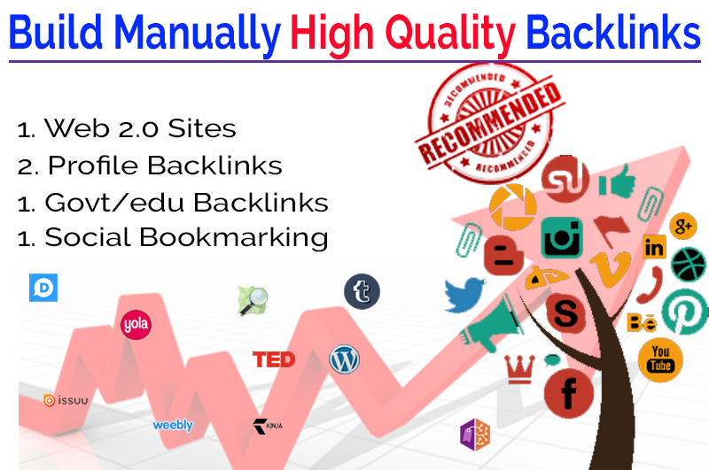Build Manually Exclusive High Quality SEO Backlinks In 24 Hours