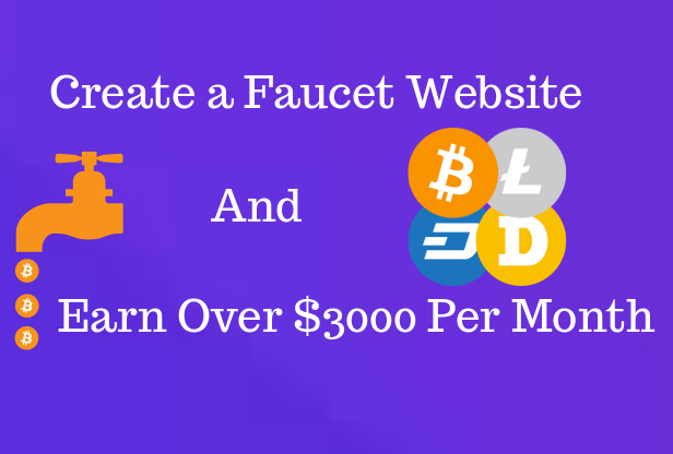 Create A Faucet Website For You