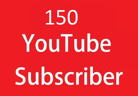 Instant 150 YouTube Subscriber Very Fast Only On