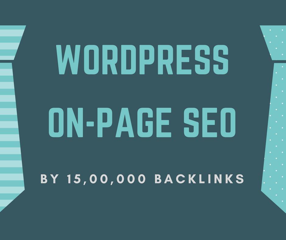Optimize Wordpress Onpage SEO