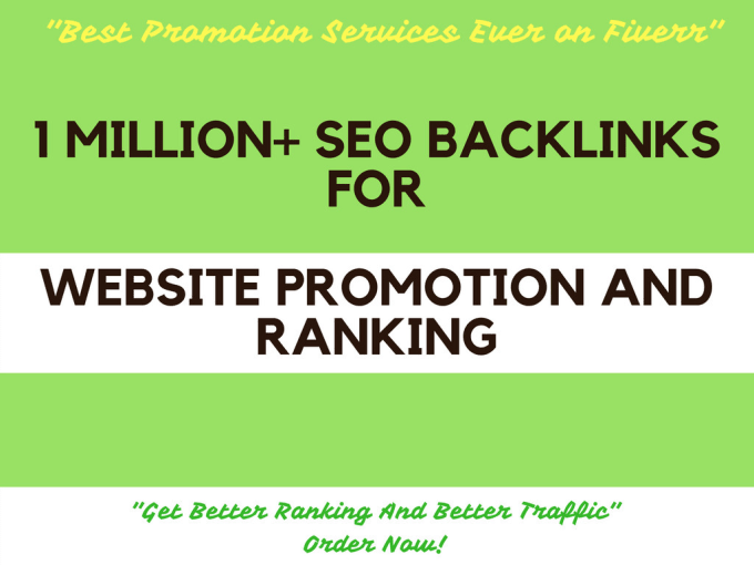 Create SEO Backlinks For Website Promotion,  Rankings