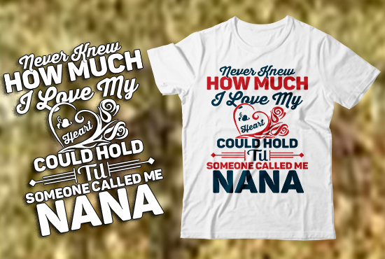 Create Custom Typographic T Shirt Only 6 Hours