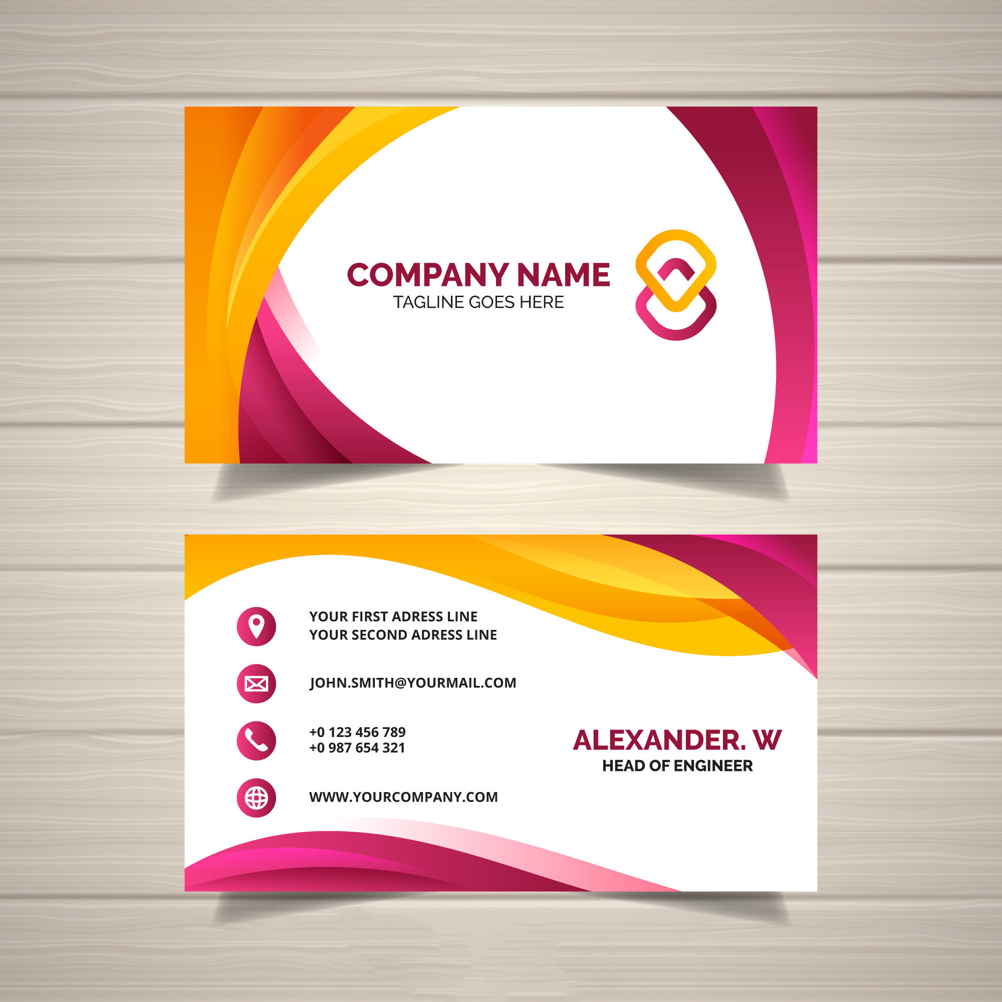Beautiful Design a professional Business Card