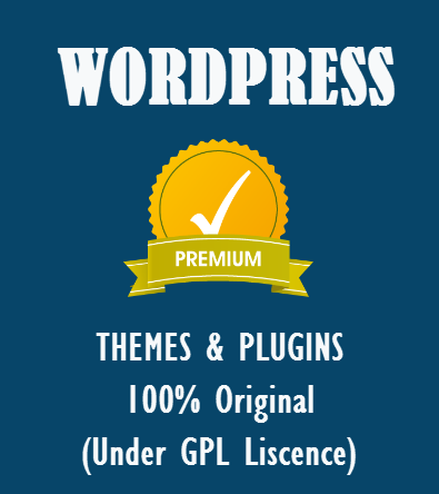 Premium WordPress Themes, Plugins At Lowest Price - 100 Original