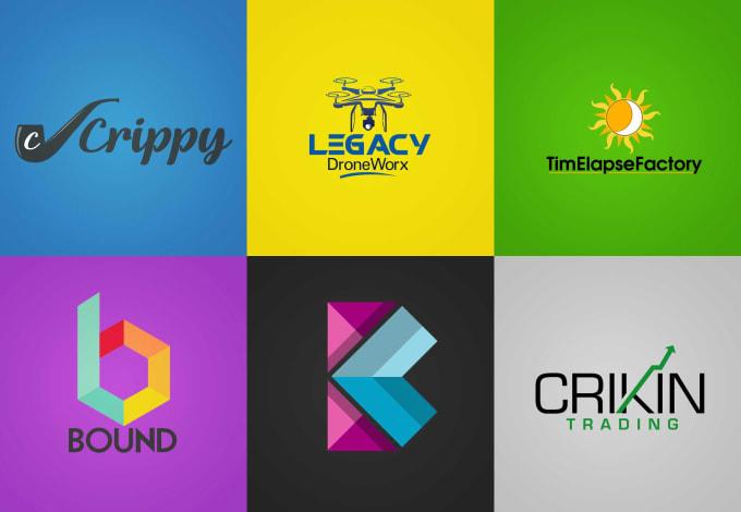 Flat Minimalistic Logo Designs