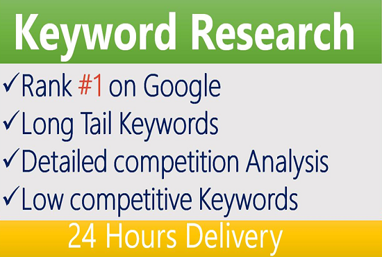 I do the best profitable SEO Keyword Research in 24 hours