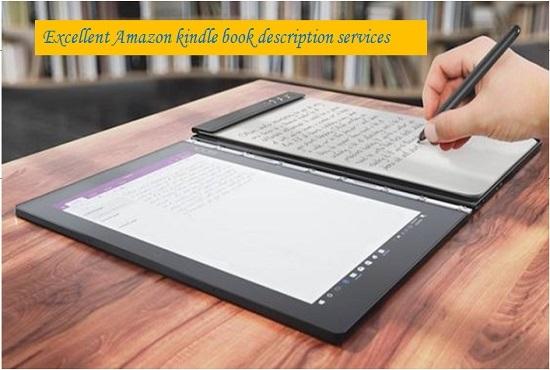 Write A Best Selling Kindle Book Description