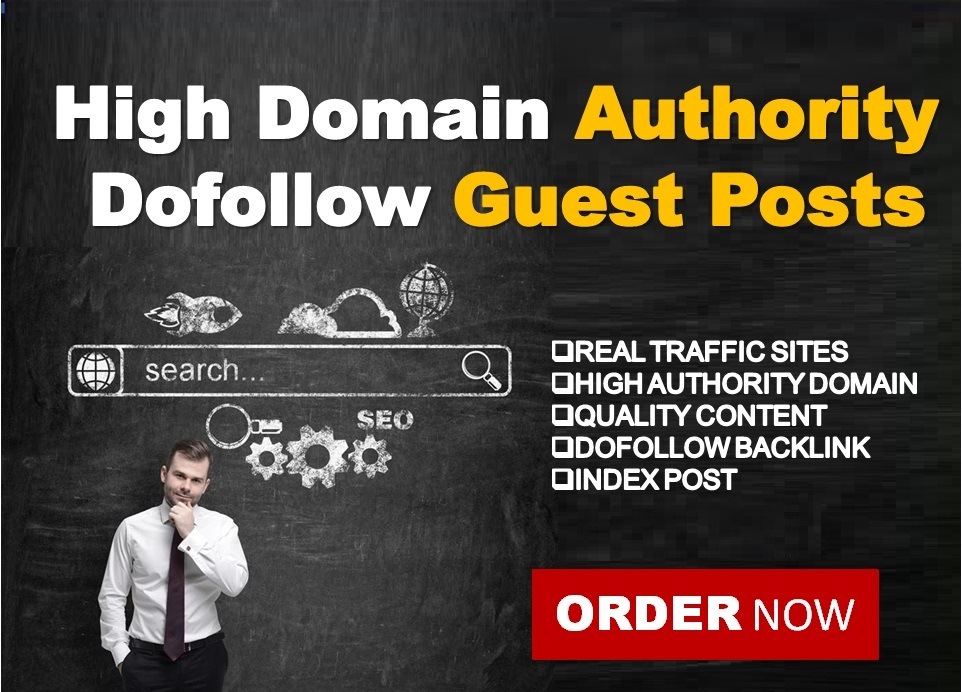 Create 10 Guest Post In High Quality Dofollow Sites