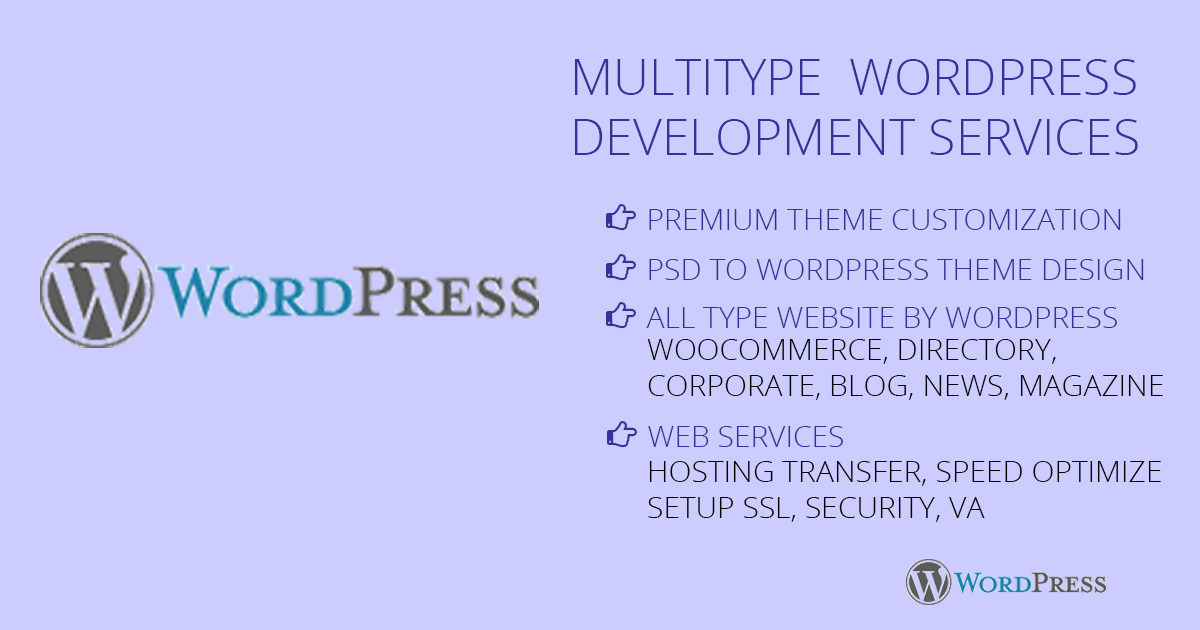 WordPress responsive website development and awesome UI design