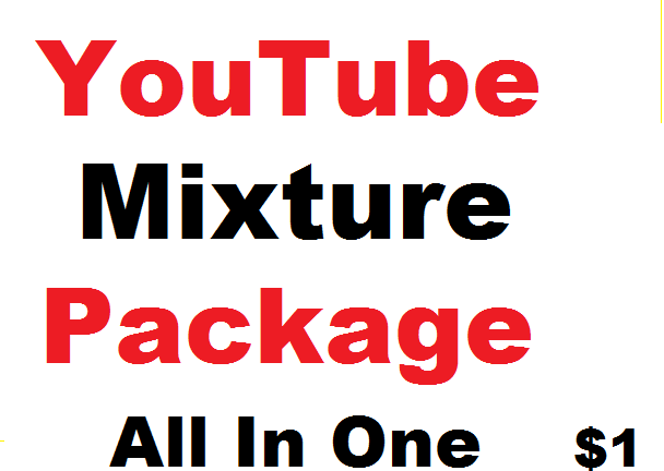 All in One- YouTube Promotion package