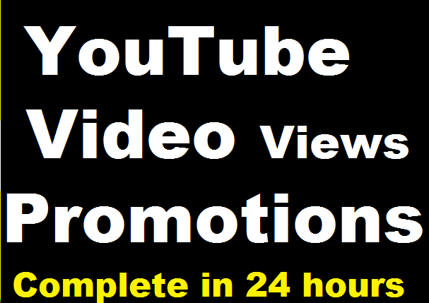 YouTube Videos Promotion High Quality and Super Fast