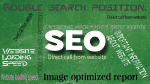 create an SEO Report showing all your website problems