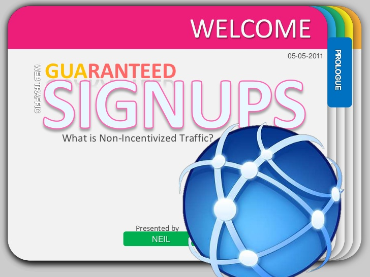 Drive 20+ Human Organic SignUps To Your URL