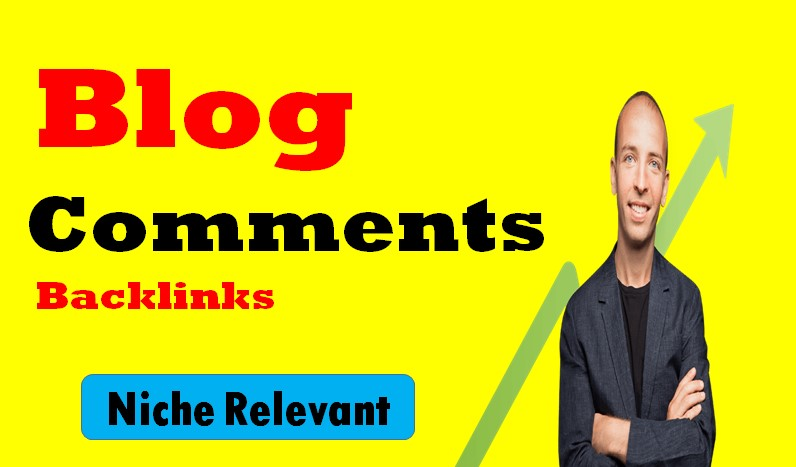 Get 15 High Quality Niche Relevant Blog comments Backlinks With Low OBLs yup