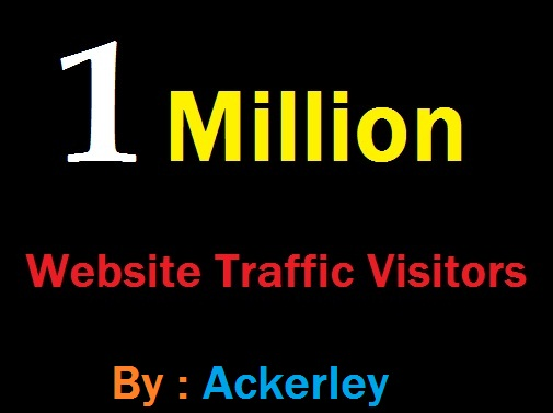 1 Million Worldwide Website Traffic For network Marke...