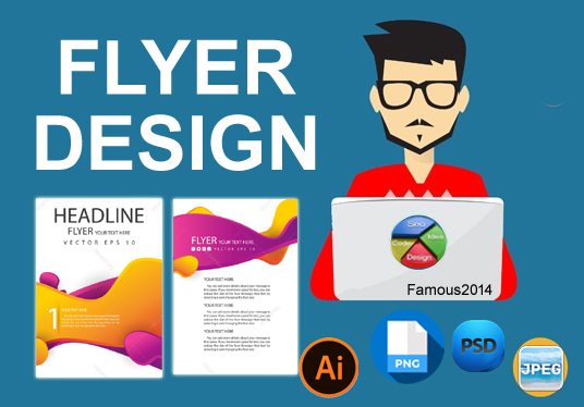 Exclusive Flayer design for your company/webiste