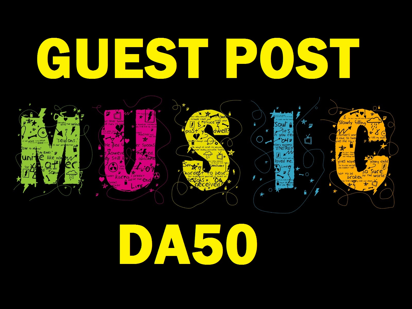 Guest Post On Da 50 Quality Music OR Entertainment Blog