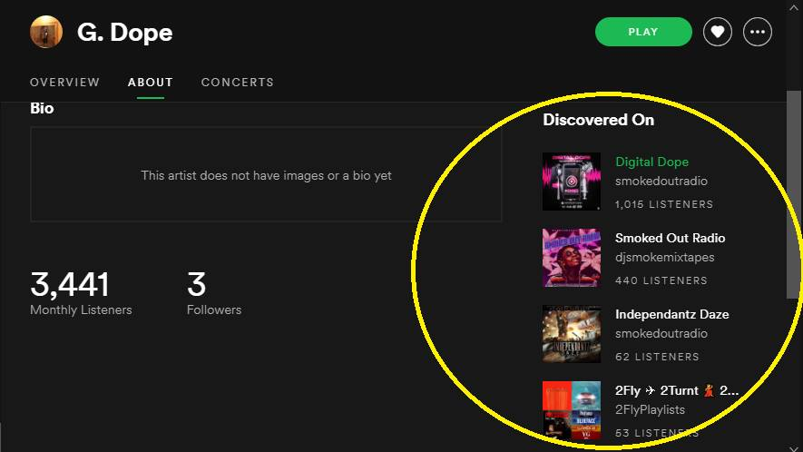 Add your song to my playlist with over 10k active users