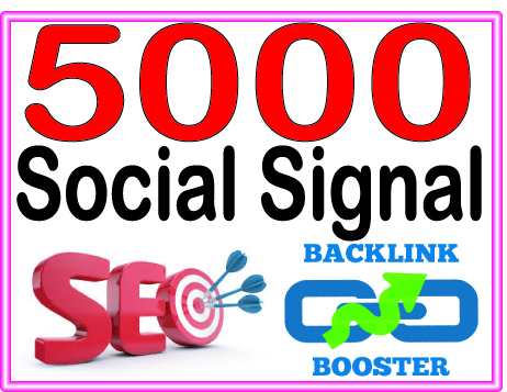 Create 5000 Social Signal Highly Authorized Google Do...