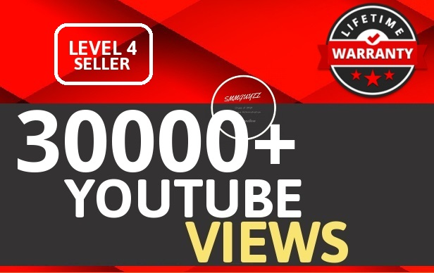 30000+ VIEWS HIGH RETENTION And Instant Start Fully safe Guaranteed