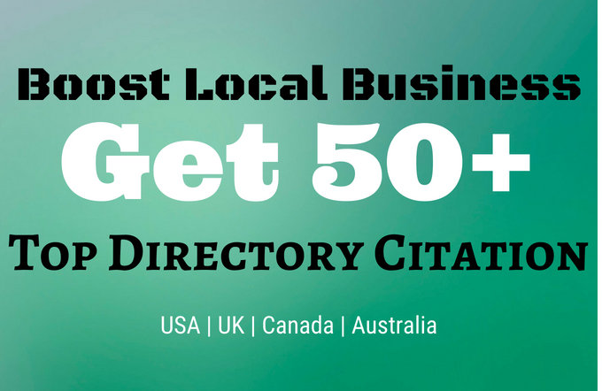 Get 50 Top Directory Citations & Dominate Your Local Market