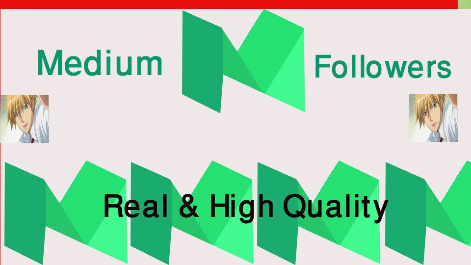 get 500+Medium Followers High Quality+1000 claps Inst...