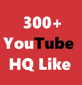 Manually 300+ Real YouTube Likes  Non-Drop Very Fast Delivery