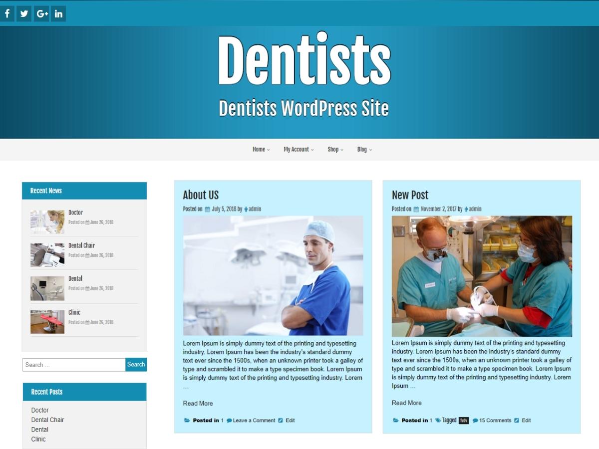 Create Responsive Business Wordpress Website Design