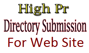 I Do 30 High PR Directory Submission  Manually