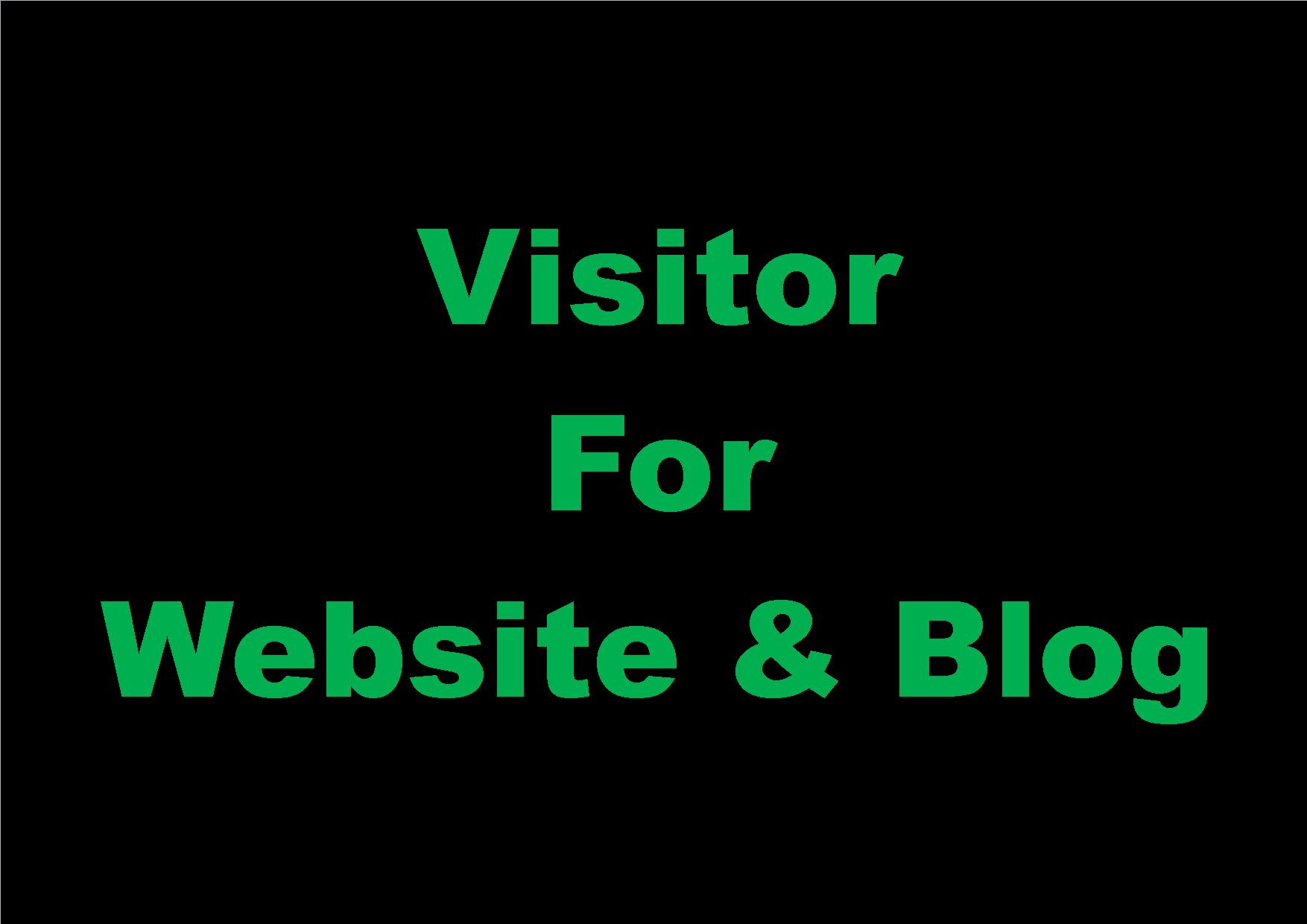 20,000+ Visitors for Website & Blog
