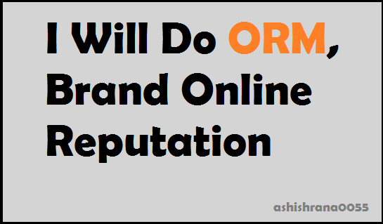Do Orm, Brand Online Reputation