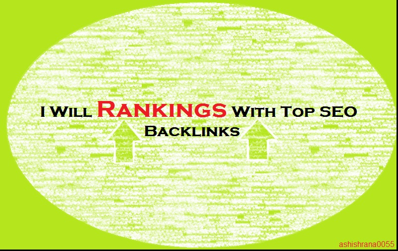 Rankings with Top SEO Backlinks