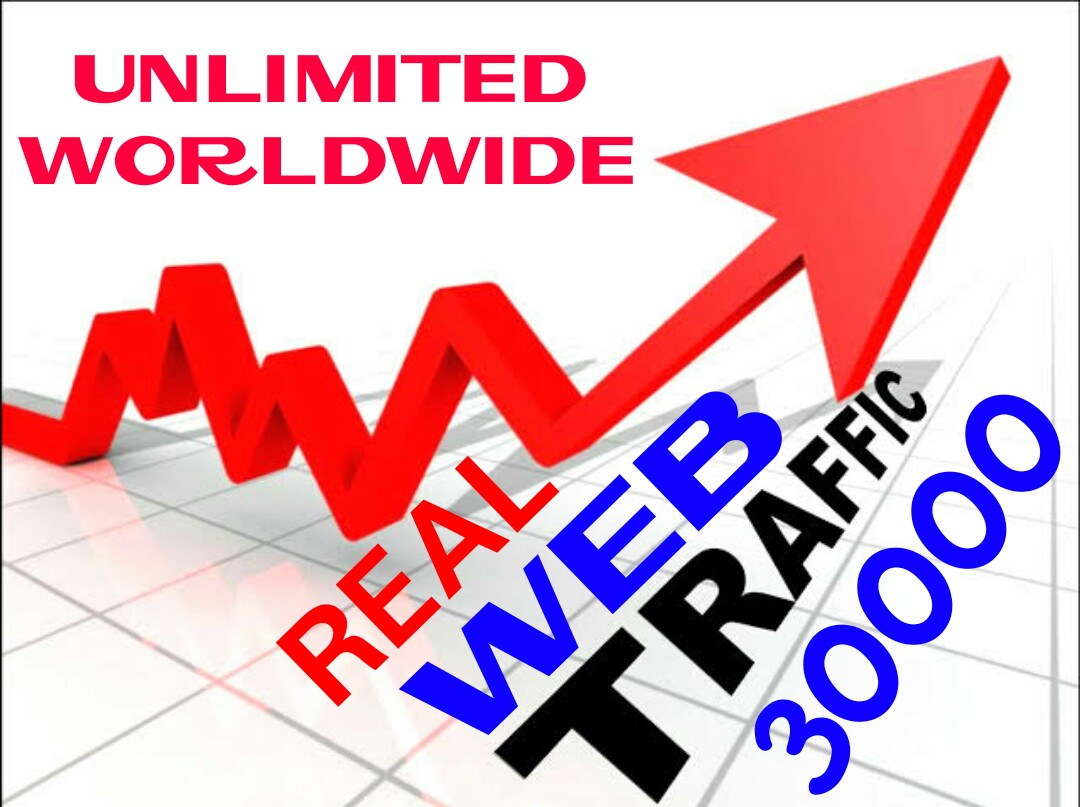 Drive 30000 Web Traffic for your Website or Blog