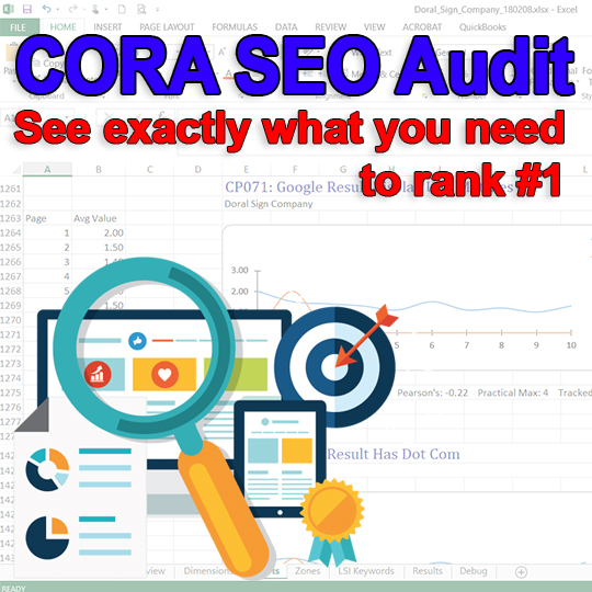 Cora SEO Audit How to Rank 1 in Google