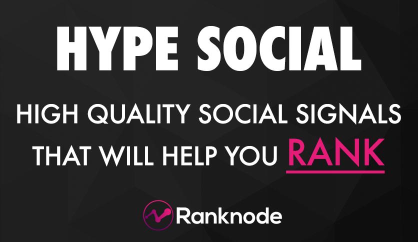 HYPE SOCIAL Premium Social Signals