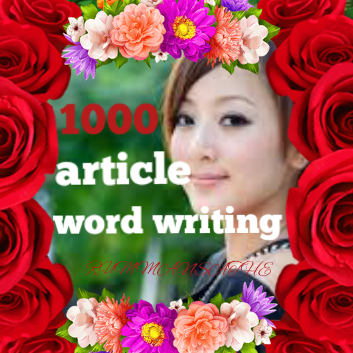 Really 1000+ article word writting fast delivery