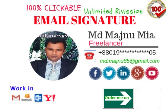 do clickable Html Email Signature
