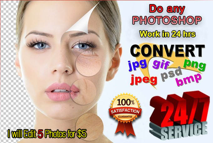 Photo Retouch And Background Remove Professionally
