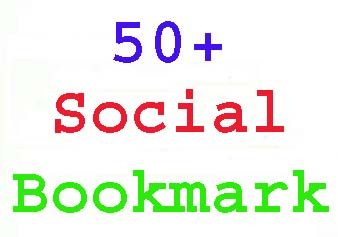Manually Do top 50+social bookmark PR4-PR8 backlink within 24 hours
