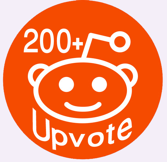 World Wide 200+ Real Human Reddit Upvotes