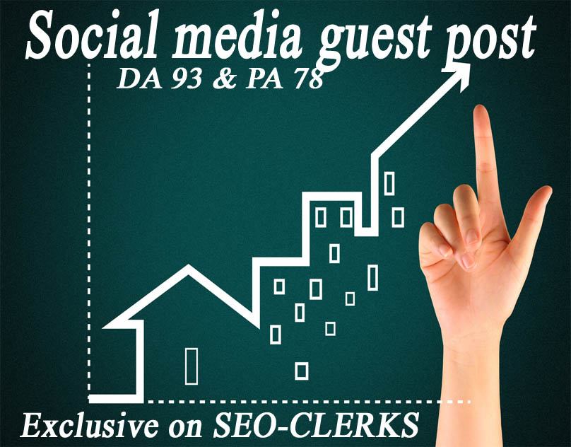 Provide You A Social Guest Post From News/All Niche Web Site