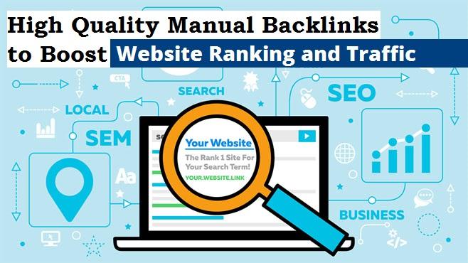 Boost Your Google Ranking - Google Safe Manual Backlink