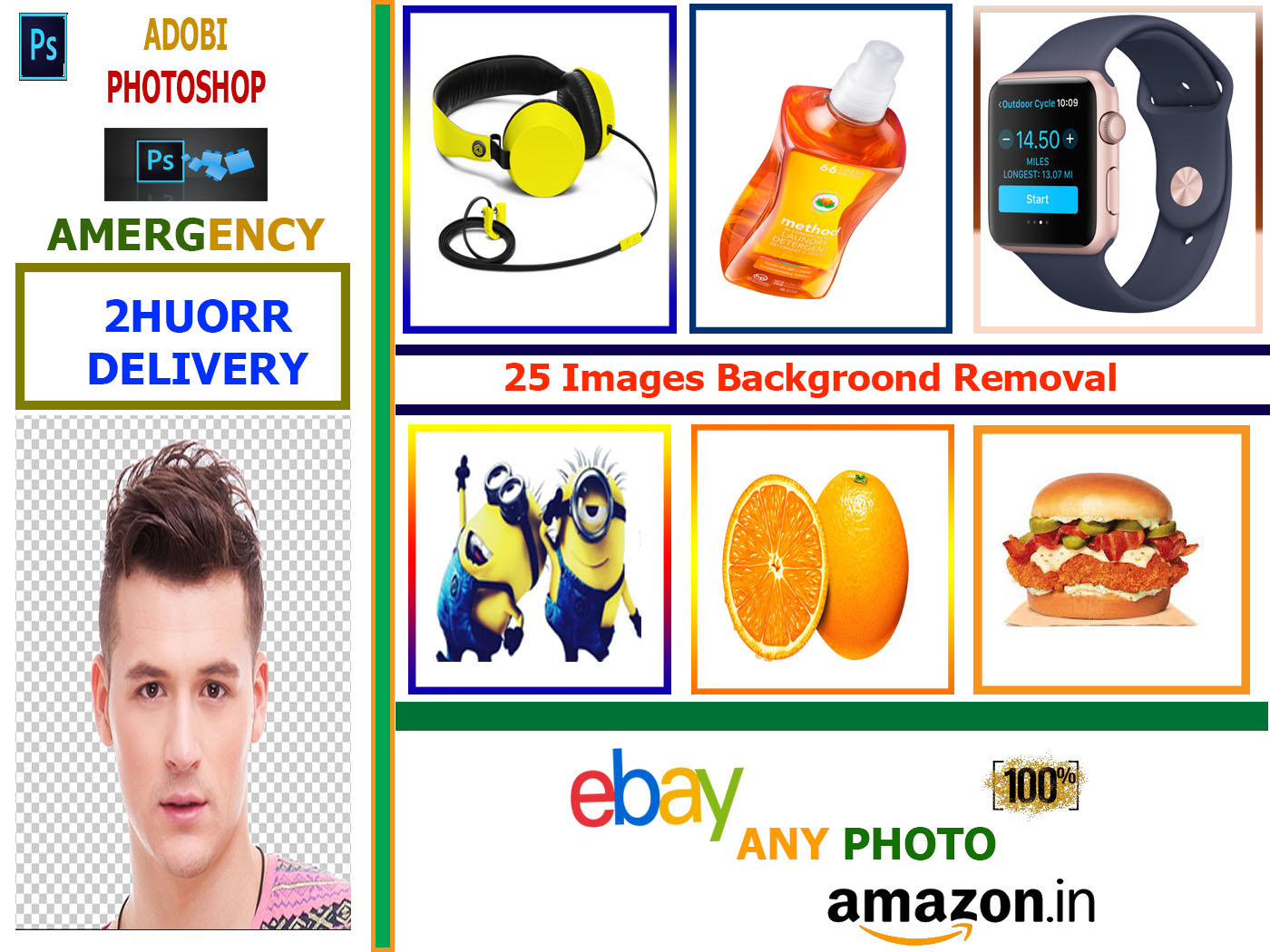 25 images background removal professionally and fast delivery