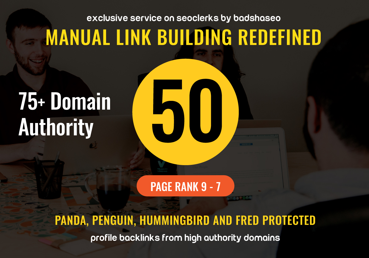 Super Quality 50 Google loved Backlinks And will add my premium Indexer