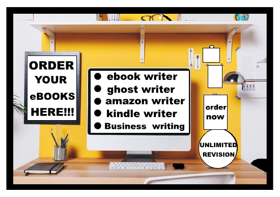 i will be your perfect eBook writer and ghost writer